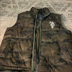 U.S. Polo Assn. Camo Vest